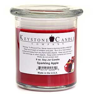 8 oz Sparkling Apple Soy Jar Candles