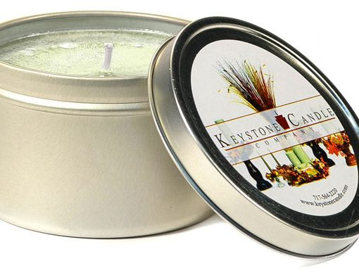 Warm Vanilla Sugar Scented Tins 4 oz