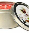 Raspberry Cream Candle Tins 8 oz