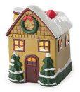 Christmas Cottage Tart Warmer