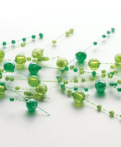 Beaded Garland Pearl Peridot