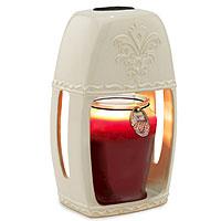 Lantern Warmer Ceramic Sand Stone