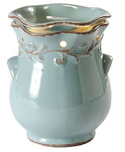Country Crock Tart Burner Blue