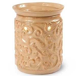 Rococo Ceramic Tart Burner Tan