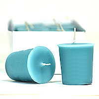 Blue Lagoon Scented Votives