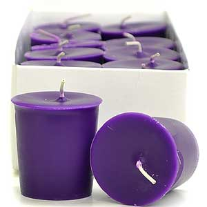 Lilac Scented Votives