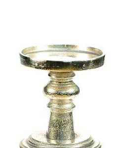 Aluminum Short Candle Holder