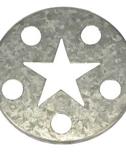 Jar Caps Silver Star
