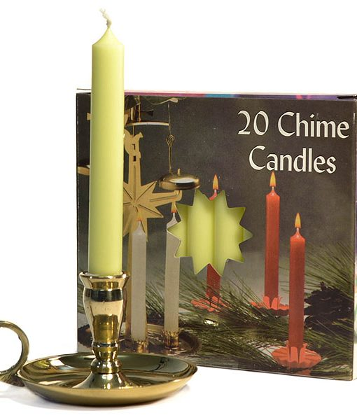 Chime Candles Yellow