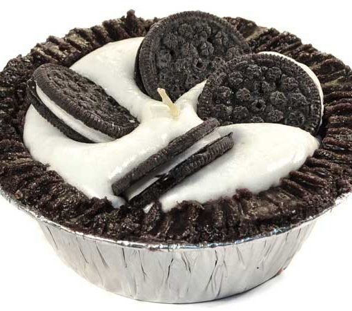 Cookies and Cream Pie Candles 5 Inch