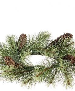 Black Hills Pine Candle Rings 4.5 Inch