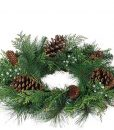 Mixed Pine Candle Rings 6.5 Inch
