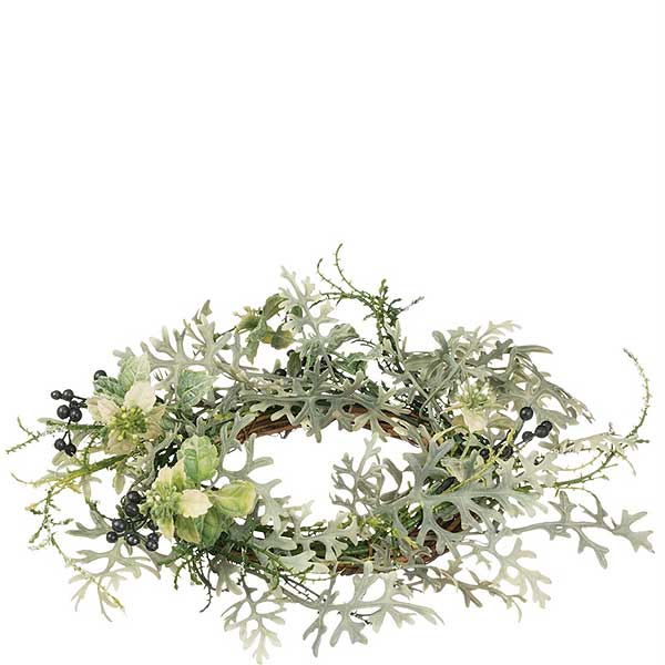 Buy Dusty Miller 4 5 Inch Candle Ring Online Bulk Candle Rings