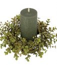 Eucalyptus Candle Ring 4 Inch