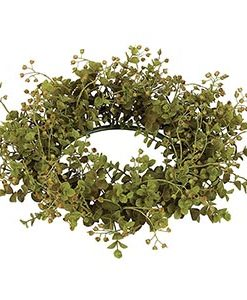 Eucalyptus Candle Ring 6 Inch