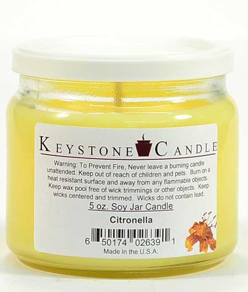5 oz Citronella Soy Jar Candles