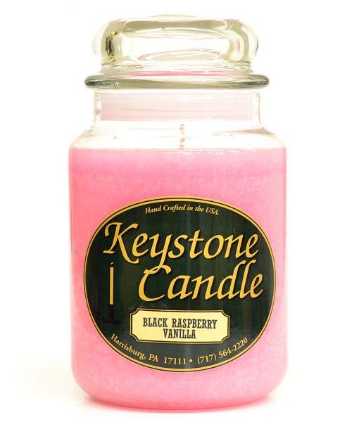 26 oz Black Raspberry Vanilla Jar Candles