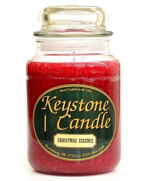 26 oz Christmas Essence Jar Candles