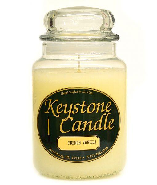 26 oz French Vanilla Jar Candles