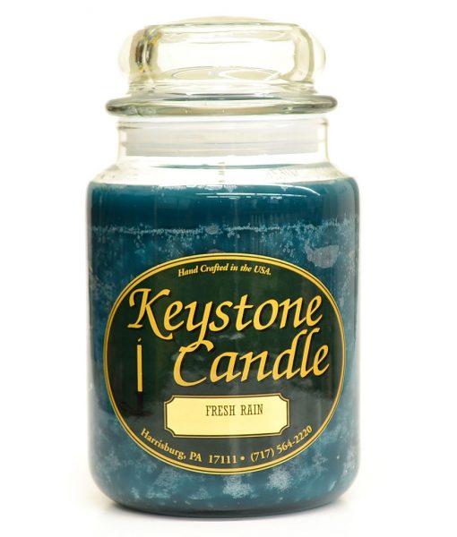 26 oz Fresh Rain Jar Candles