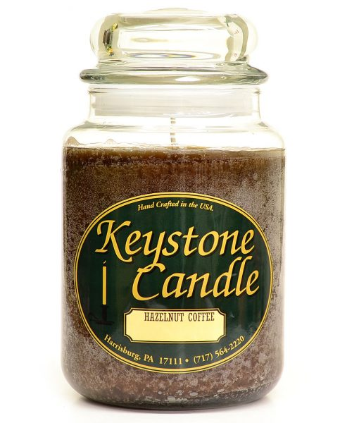 26 oz Hazelnut Coffee Jar Candles