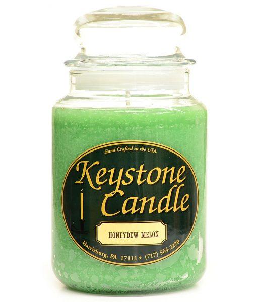 26 oz Honeydew Melon Jar Candles