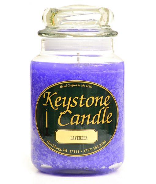 26 oz Lavender Jar Candles