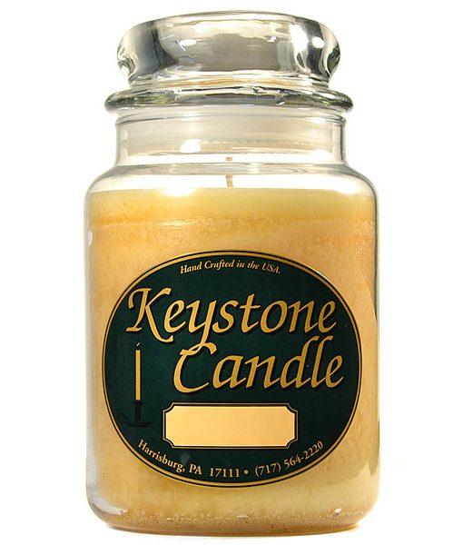 26 oz Cranberry Kettle Corn Jar Candles