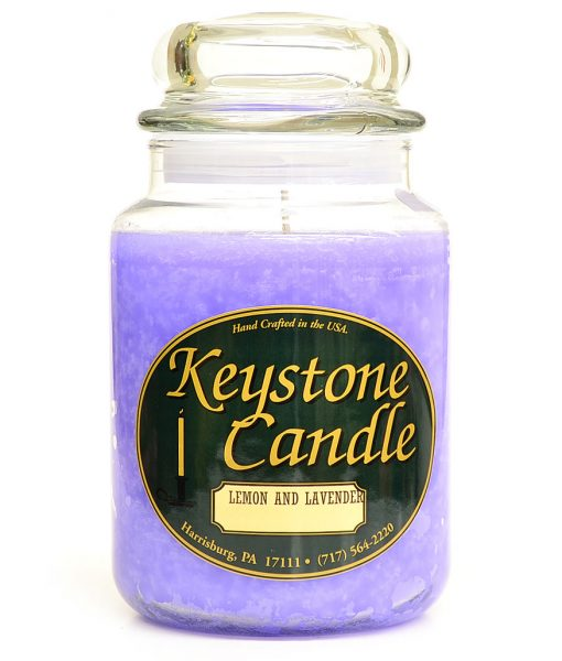 26 oz Lemon and Lavender Jar Candles