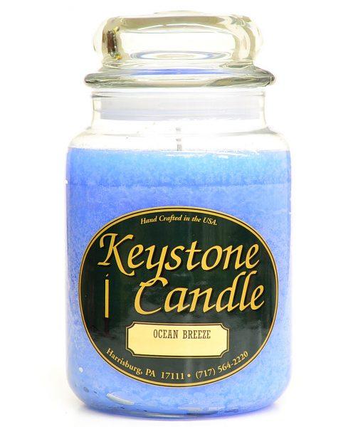 26 oz Ocean Breeze Jar Candles