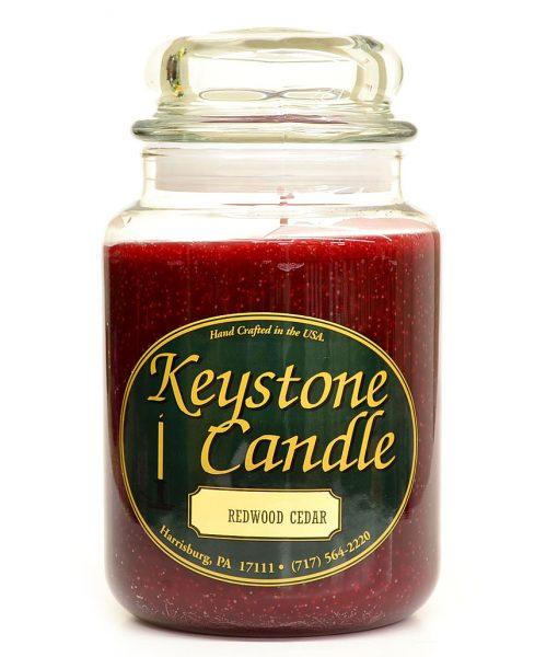 26 oz Redwood Cedar Jar Candles