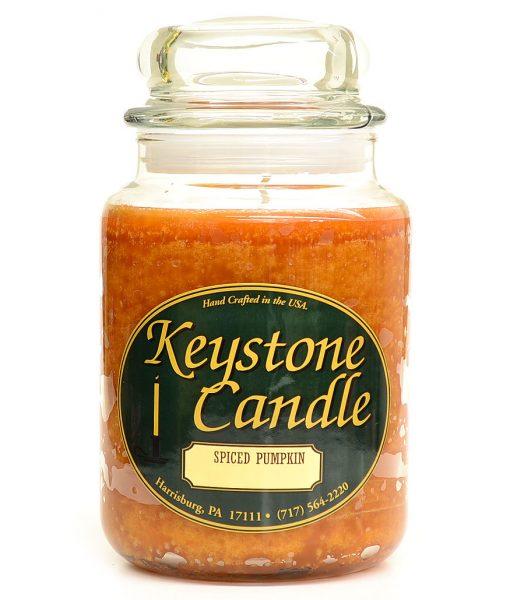 26 oz Spiced Pumpkin Jar Candles