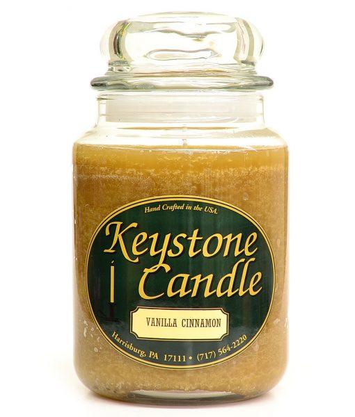 26 oz Vanilla Cinnamon Jar Candles