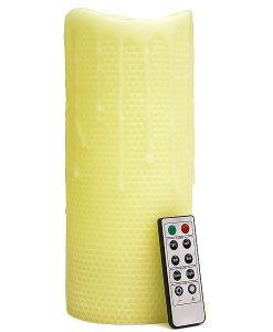 Remote Control 4 x 10 LED Candles Honeycomb