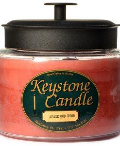 64 oz Montana Jar Candles Amber Oud Wood