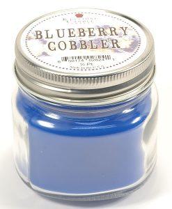 Half Pint Mason Jar Candle Blueberry Cobbler