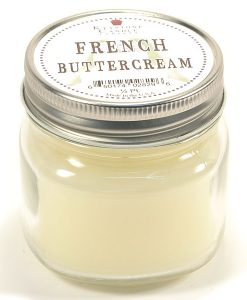 Half Pint Mason Jar Candle French Butter Cream