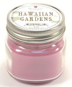 Half Pint Mason Jar Candle Hawaiian Gardens
