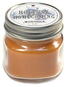 Half Pint Mason Jar Candle Holiday Homecoming
