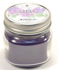 Half Pint Mason Jar Candle Lilac