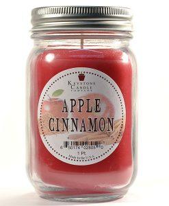 Pint Mason Jar Candle Apple Cinnamon