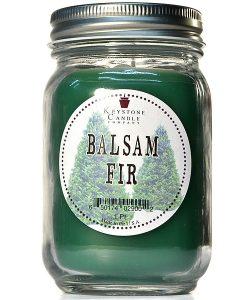 Pint Mason Jar Candle Balsam Fir
