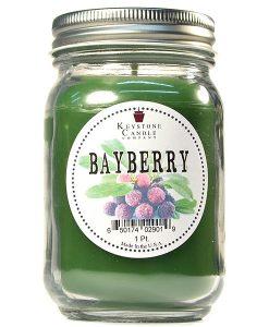 Pint Mason Jar Candle Bayberry