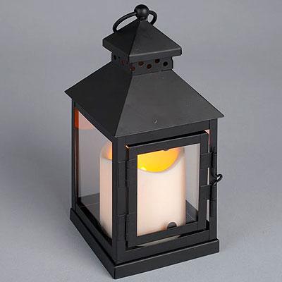 LED Pillar and Mini Lantern