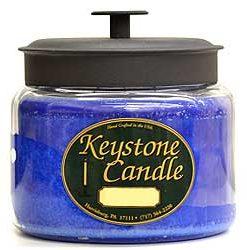 64 oz Montana Jar Candles Blue Christmas