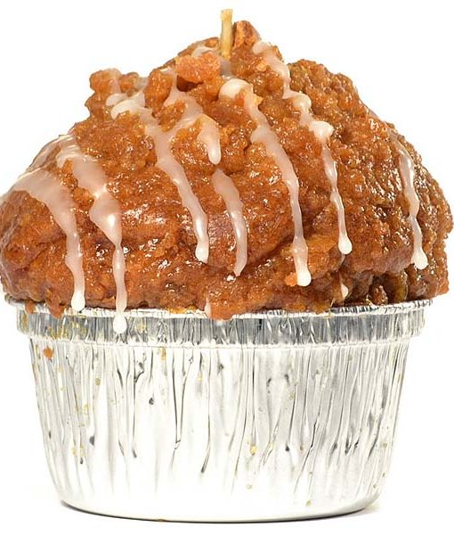 Muffin Shaped Candle Apple