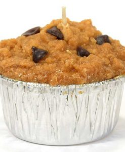 Muffin Shaped Candle Chocolate Chip