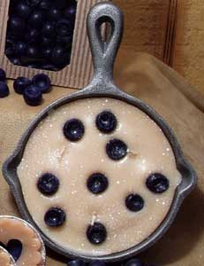 Pan Candles Scented Blueberry Cobbler