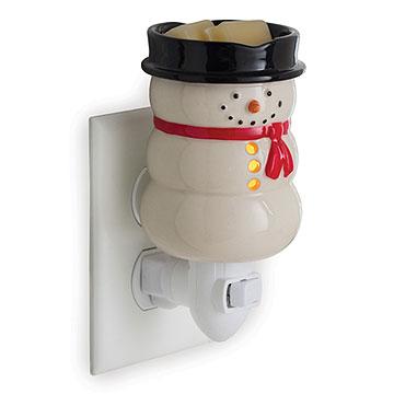 Lumpy Snowman Mini Tart Warmer