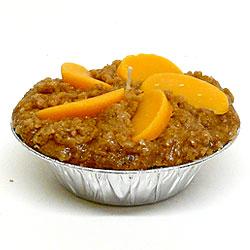 Peach Pie Candles 5 Inch